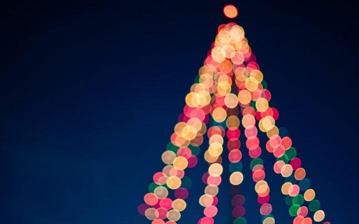 holiday blues tree